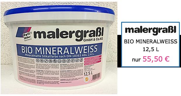 malergraßl - BIO-MINERALWEISS